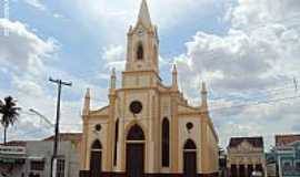 Sanhar� - Igreja Cora��o de Jesus em Sanhar�-PE-Foto:Sergio Falcetti