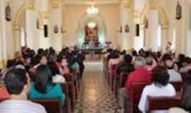 Sanhar� - imagem da igreja no centro da cidade, Por jairo cavalcanti