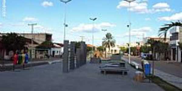 Santa Cruz-PE-Praça da Matriz-Foto:Sergio Falcetti