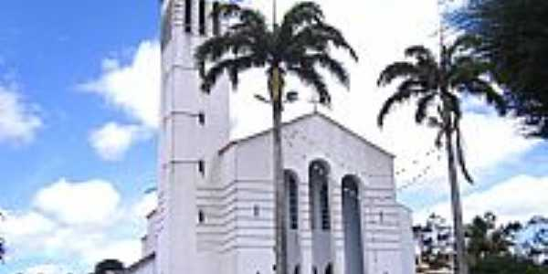 Santa Maria do Cambuc�-PE-Matriz de N.Sra.do Ros�rio-Foto:Vicente A. Queiroz