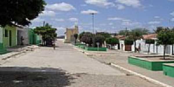 Praça e Igreja em Santa Rita-Foto:paulo cesar