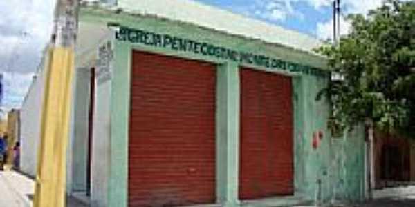 Igreja Pentecostal de Santo Antônio das Queimadas-Foto:Elio Rocha