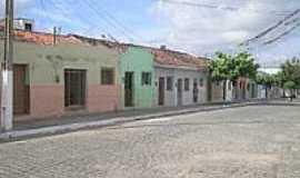 São Bento do Una - Casario na Rua da Barriguda-Foto:Orlando Calado