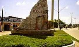 S�o Jos� da Coroa Grande - Monumento na entrada de S�o Jos� da Coroa Grande-Foto:cidadao.dpnet.