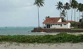 S�o Jos� da Coroa Grande - S�o Jos� da Coroa Grande-PE-Casa na Praia-Foto:www.cidade-brasil.com.br