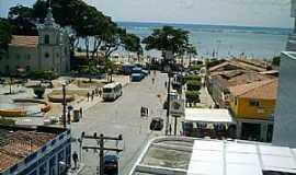 S�o Jos� da Coroa Grande - S�o Jos� da Coroa Grande-PE-Vista parcial da cidade e o mar-Foto:Aroldo Acioly