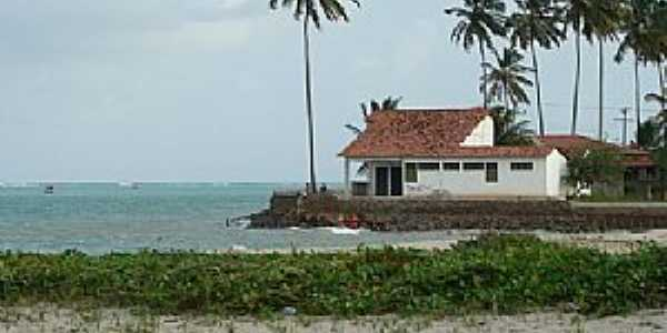São José da Coroa Grande-PE-Casa na Praia-Foto:www.cidade-brasil.com.br