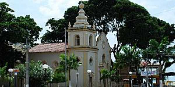 São José da Coroa Grande-PE-Praça e a Matriz de São José-Foto:ACCosta