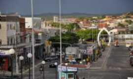 São José do Egito - Vista parcial das Ruas Paulo Soares e Walfredo Siqueira (Rua da baixa), Por Josimar Lira Matos