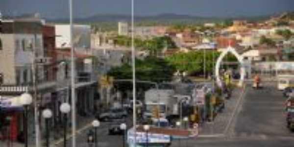 Vista parcial das Ruas Paulo Soares e Walfredo Siqueira (Rua da baixa), Por Josimar Lira Matos