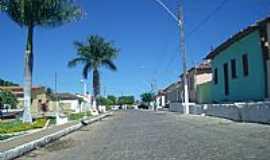 Coribe - Rua Santa Cruz em Coribe-Foto:R�mulo Henok