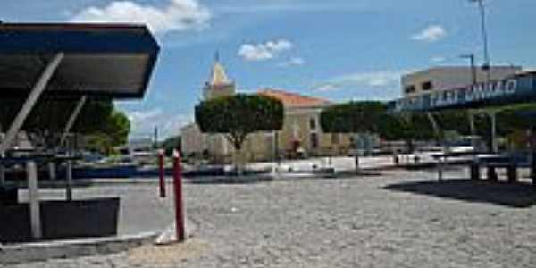 Praça da Matriz em Serrita-PE-Foto:william.alencar