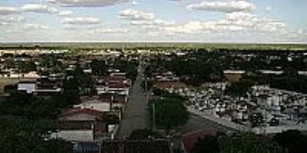 Serrolândia-PE-Vista da cidade-Foto:serrolandianoticias.