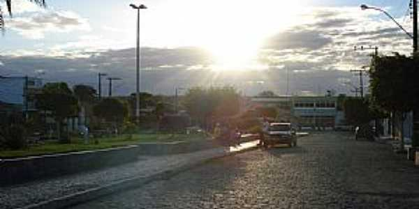 Coronel João Sá-BA-Pôr do Sol no centro-Foto:Humberto Guanais
