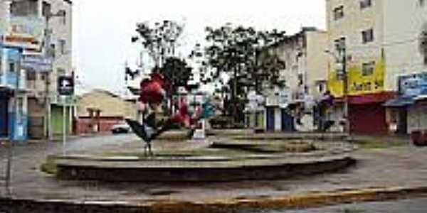 Praça Sete de Setembro em Surubim-Foto:Sergio Falcetti