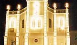 Tabira - Igreja Matriz a Noite
