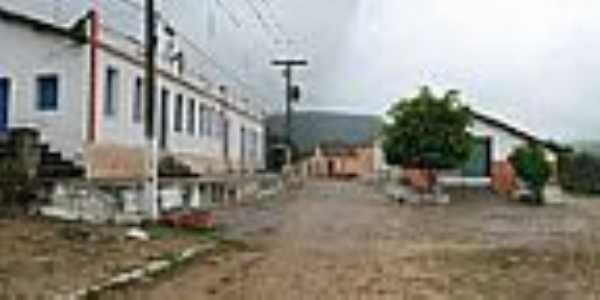 Vista da entrada do Distrito de Tabocas-Foto:Magno Lima
