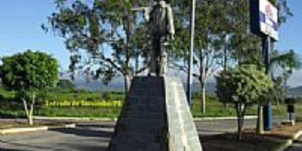 Monumento na entrada da cidade de Tacaimbó-PE-Foto:WLuiz