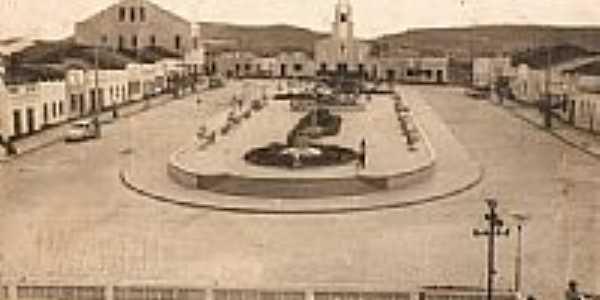 Praça Francelino Araújo(1969)em Tacaimbó-PE-Foto:Garçon França