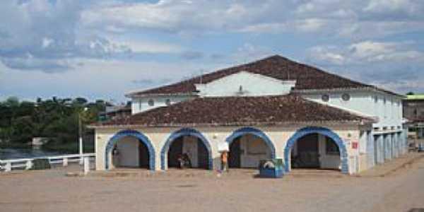Correntina-BA-Antigo Mercado Municipal-Foto:namoralcomigo