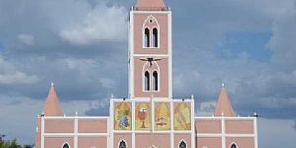 Correntina-BA-Igreja de N.Sra.da Glória-Foto:namoralcomigo