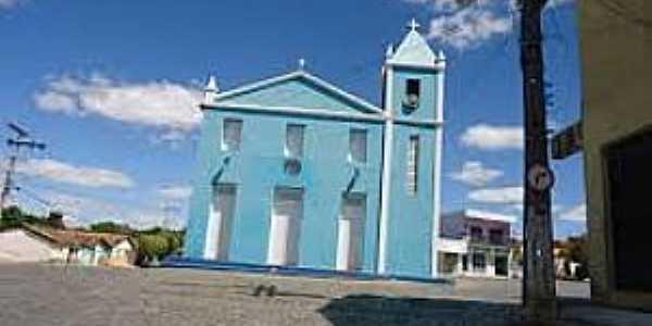 Correntina-BA-Igreja de São Lázaro-Foto:mapio.net