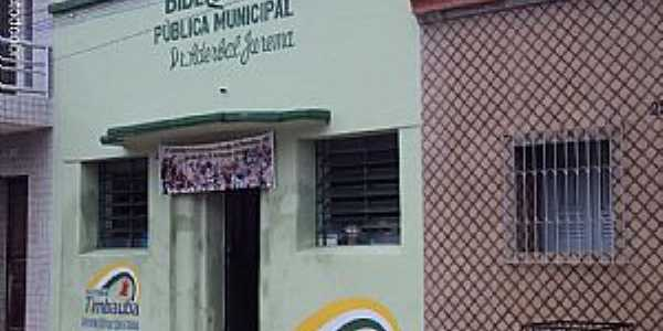 Timbaúba-PE-Biblioteca Pública Municipal-Foto:Sergio Falcetti