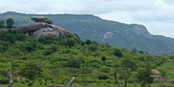 Pedra do Chap�u-Foto:Magno Lima