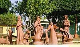 Tracunhaém - Artesanato em cerâmica na praça de Tracunhaém-PE-Foto:Valéria Amaral