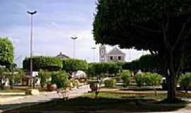 Tracunhaém - Praça da Matriz em Tracunhaém-PE-Foto:Valéria Amaral