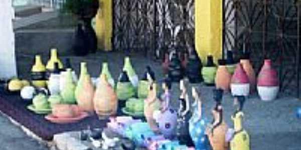 Artesanato em cer�mica em Tracunha�m-PE-Foto:Val�ria Amaral