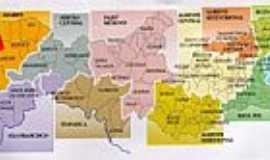 Trindade - Mapa de Localização - Trindade-PE