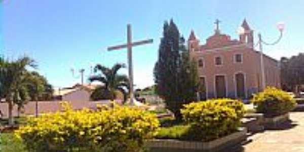 Igreja Matriz Santa Cruz em Cotegipe-BA-Foto:xaviers