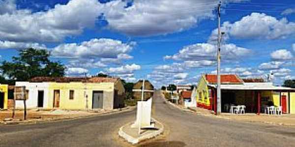 Urimamã-PE-Cruzeiro na entrada da cidade-Foto:Jorge Hirata