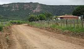 Viração - Estrada na chegada em Viração-Foto:Magno Lima