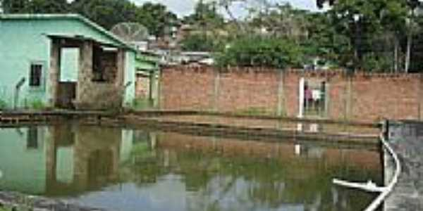 Reservatório do SAAE em Xexéu-PE-Foto:viktorcampos