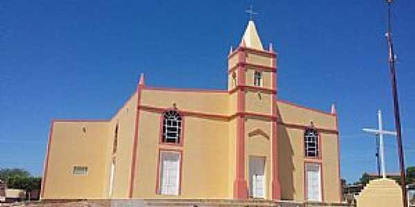 Acauã-PI-Igreja de São Francisco de Assis-Foto:genivaldo-miguel.comunidades.net