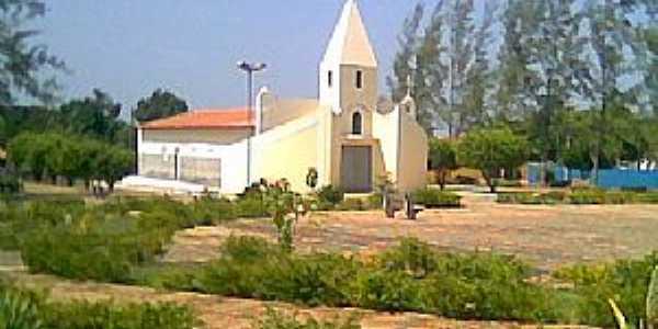 Agricolândia-PI-Igreja Matriz-Foto:www.multicipios.com.br