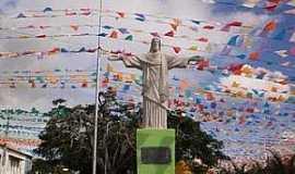 Cravolândia - Cravolândia-BA-Cristo Redentor no centro-Foto:Gilmar lima santana