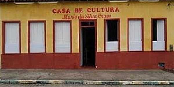 Cravolândia-BA-Casa da Cultura-Foto:Gilmar lima santana