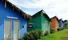 Água Branca - Água Branca-PI-Casinhas coloridas-Foto:Caio Graco Machado