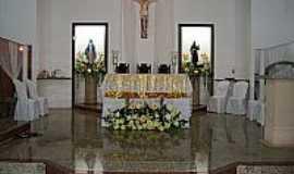 Alagoinha do Piauí - Alagoinha do Piauí-PI-Altar da Matriz de São João Batista-Foto:Júnior Sá