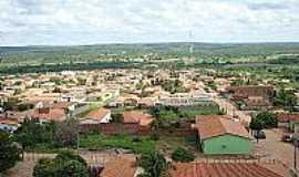 Alagoinha do Piauí - Alagoinha do Piauí-PI-Vista aérea da cidade-Foto:facebook.com/AlagoinhaDoPiaui