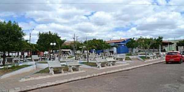 Alagoinha do Piauí-PI-Praça central-Foto:facebook