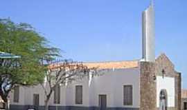 Alegrete do Piauí - Igreja-Foto:mauroenio