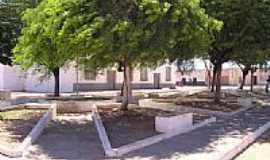 Alegrete do Piauí - Praça-Foto:mauroenio