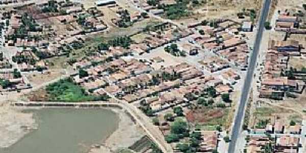 Alegrete do Piaui-PI-Vista aérea-Foto:Cidade Brasil