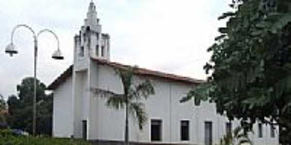 Nova Igreja de Santana em Antônio Almeida-PI-Foto:walterfmota