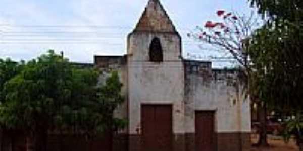 Antiga Igreja de Santana em Antônio Almeida-PI-Foto:walterfmota