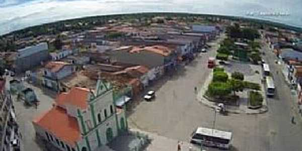 Crisópolis-BA-Centro da cidade-Foto:www.facebook.com